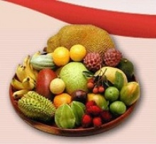 aseptic tropical fruits mix puree - product's photo
