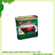 halal canned beef luncheon meat - product's photo