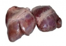 frozen pork hearts - product's photo