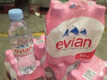 evian water ,volvic water , perrier mineral water - product's photo
