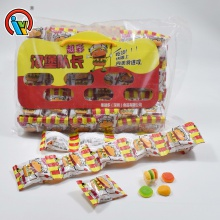 bag packing cheap hamburger gummy candy - product's photo