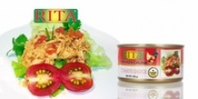 canned chicken in tomato - product's photo