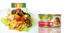 canned chicken italian salad style - product's photo