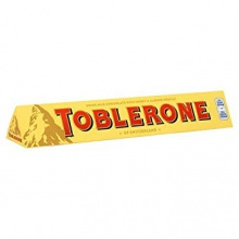 toblerone 50g 100g 200g 360g & 400g milk chocolate bar - product's photo