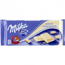 milka 100g and 300g nut cream chocolate - product's photo