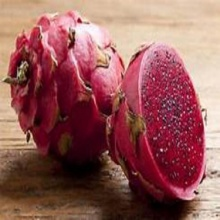 fresh red dragon fruit - product's photo