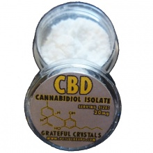 99% pure cbd powder cbdelicious formulation powder from hemp - product's photo