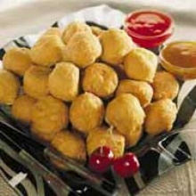 halal chicken meat balls - product's photo