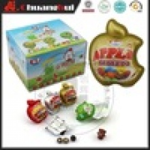 apple chocolate surprise egg with toy, apple chocolate toy egg - product's photo