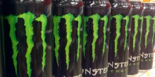 monster energy drink 330ml - product's photo