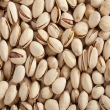 pistachio nuts with and without shell - product's photo