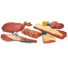 frozen  beef cuts - product's photo