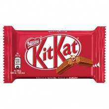 kitkat chocolate bar 4 fingers waffle with milk and chocolate - product's photo