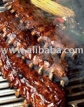 pork ribs: bbq pork - product's photo