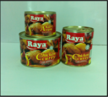 canned meat chicken curry - product's photo