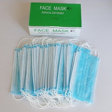 non-woven fabrics pm2.5 n95 face disposable respirator mask - product's photo