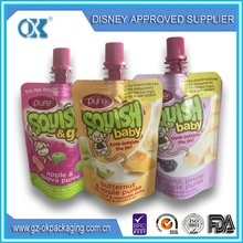 baby food liquid pouch spout - product's photo