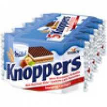 knoppers 25g bar chocolate - product's photo