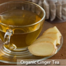 organic ginger tea - product's photo