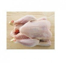 frozen whole halal chicken - product's photo