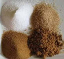 white crystal refined sugar  - product's photo