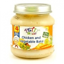 halal baby food - chicken & vegetable bake - product's photo