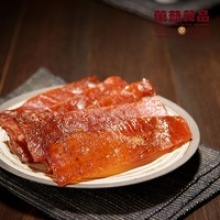 wan yi high quality health snack garlic jerky meat pork - product's photo