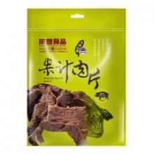 wan yi high quality jerky snack pork with sweet and chili spice - product's photo