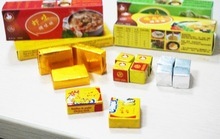halal chicken stock cube/seasoning powder/soup cube/bouillon/condiment - product's photo