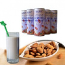 plant protein drink aprieot seed drink for supermarket - product's photo