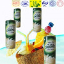 kelapa squash new filling soft drink in tin 240ml - product's photo