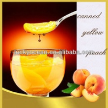 canned yellow peach light syrup - product's photo