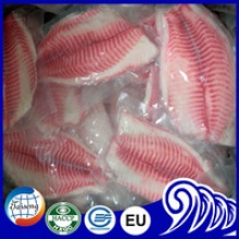 frozen tilapia fillet with skineless and boneless - product's photo