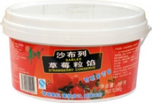 strawberry jam for bakery filling decoration - product's photo