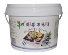 blueberry topping cream for bakery cake - product's photo
