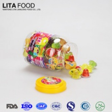 lita food natural confectionery type mini fruit jelly cup 35g - product's photo