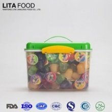 big handle box packed sweet candy fruit jelly pudding - product's photo