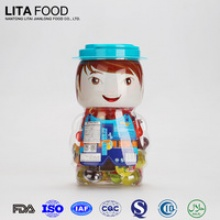baby doll container natural fruit and vitamin jelly candy - product's photo