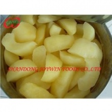 canned fruit sliced apple in syrup - product's photo