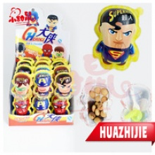 surprise egg super man kinder joy chocolate candy toy - product's photo