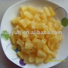 canned pineapple piece - product's photo