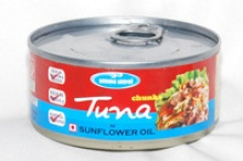 tuna chunks in veg oil - product's photo
