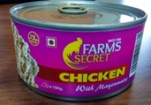 canned chicken with mayyonaise  - product's photo