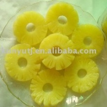 canned pineapple slice in light syrup - product's photo
