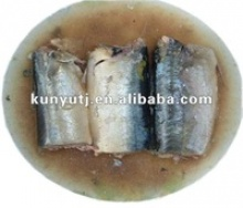 canned sardines in brine in club can - product's photo