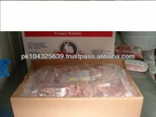 frozen rabbit meat - product's photo