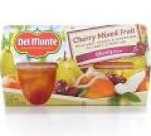 del monte cherry mixed fruit in light syrup - product's photo