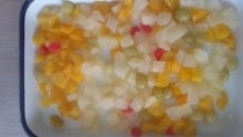 fruit coctails in light syrup - product's photo