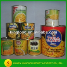 chinese sweet canned corn supplier canned vegetable  - product's photo