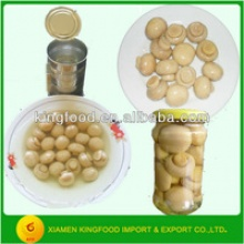 canned whole button mushroom in brine - product's photo